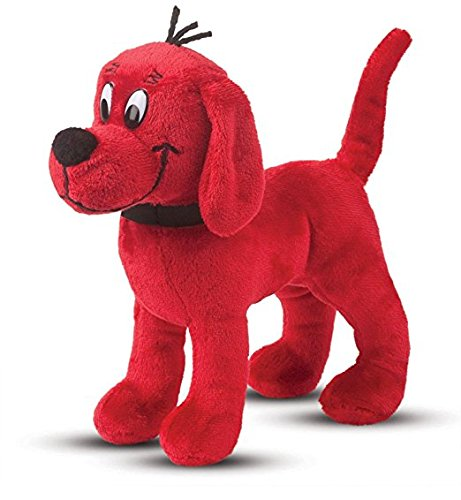 [Clifford The Big Red Dog Stuffed Animal - Clifford Stuffed Animal Style Small Standing Clifford The Big Red] (Costume Puppet Strings)