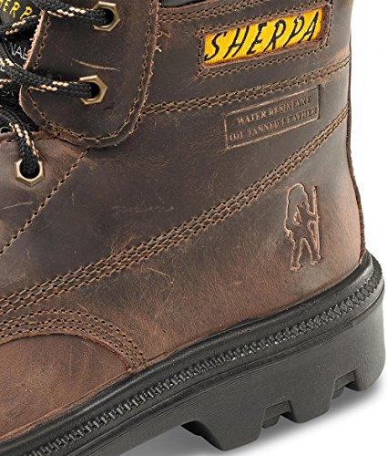 Sherpa 6 Zoll-B-Click Schuhe, Stiefel Braun