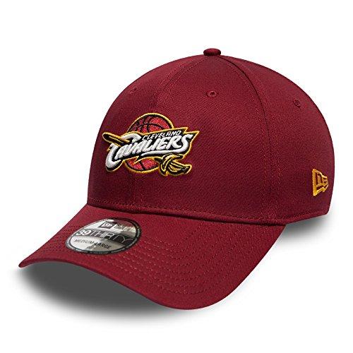 A NEW ERA NBA Cleveland Cavaliers Team 39THIRTY, gorra para hombre rojo