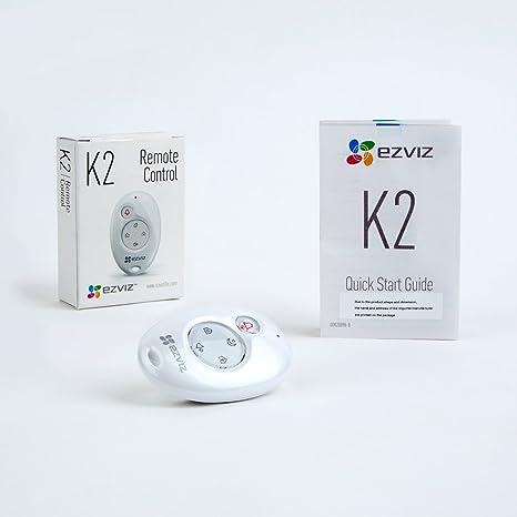 EZVIZ Mando a distancia K2,funciona con la central de alarma conectada a Internet, A1(no incluida)