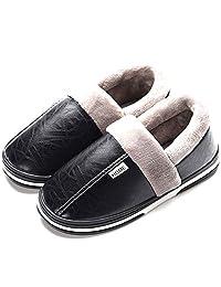 Asifn Mujer Invierno Zapatillas de Estar casa Cerradas Calienta Pantuflas Termicas Zapatos Slippers