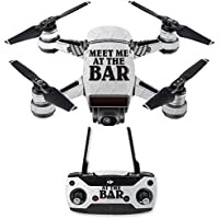 Skin for DJI Spark Mini Drone Combo - Meet Me At The Bar| MightySkins Protective, Durable, and Unique Vinyl Decal wrap cover | Easy To Apply, Remove, and Change Styles | Made in the USA