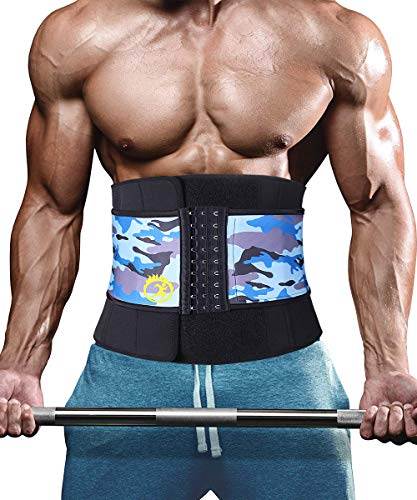 Waist Trimmers SUNPIN, Waist Trainer Slimming Belt, Adjustable Stomach Fat Burner Wrap, Fat Burning Waist Trainer Low Back Lumbar Support Weight Loss Strap for Men Women