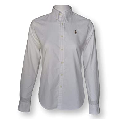 b9e3ce0b0df7 Image Unavailable. Image not available for. Color  Polo Ralph Lauren Womens Classic  Fit Oxford ...