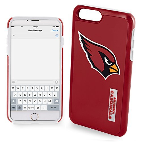FOCO Arizona Cardinals Impact Dual Hybrid Ai7+/8+ Cover - TPU - Plus 5.5