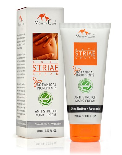 Stretch Mark Remover For Pregnancy, Anti Striae - Anti Stretch Marks, All Natural Organic Maternity Stretch Mark Prevention Lotion With Shea Butter Avocado and Olive Oil