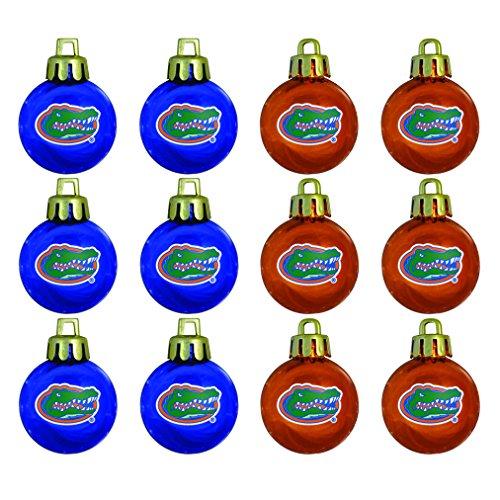 - NCAA Florida Gators 12-Pack Mini Ornament Set