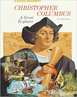 the great explorer christopher columbus Christopher columbus was a famous explorer who is often mistakenly credited for discovering america although he was not the first, the voyages of christopher.