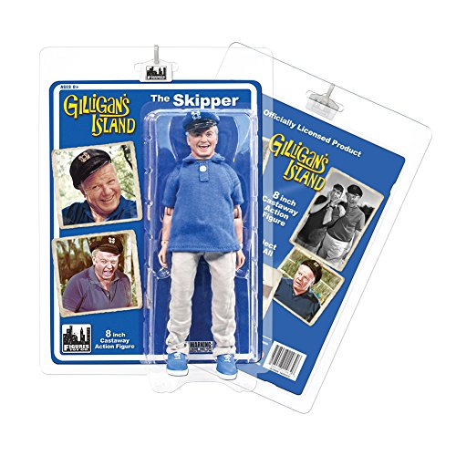 Gilligan's Island 8 Inch Action Figures Series 1: Skipper
