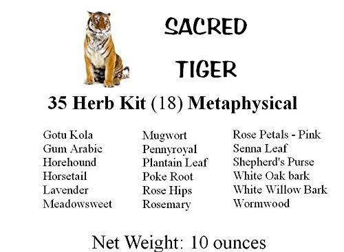 Sacred Tiger 35 Herb Kit Metaphysical, Wicca, Pagan, Culinary, Tea, Ritual by Sacred Tiger (Image #3)