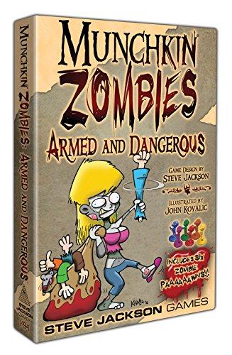 Steve Jackson Games Munchkin Zombies Armed  amp; Dangerous Deluxe