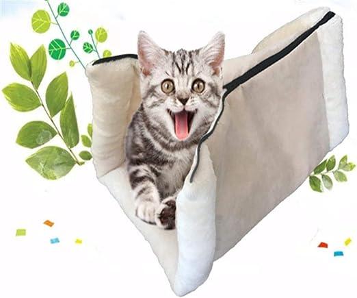 SAMMZN Artículos para Mascotas para Gatos: Saco de Dormir Doble para Gatos/túnel para Gatos/Arena para Gatos @ A: Amazon.es: Productos para mascotas