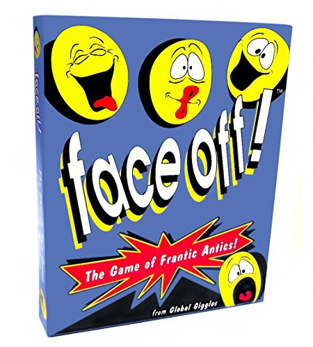 Face Off Card Game for Hilarious Family Game Night Fun ()