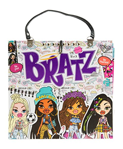 Bratz My Super Cool Fashion Folio with Fashion Designer Sheets Bratz Girl Doll