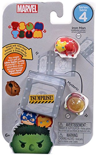 Tsum Tsum Marvel 3-Pack Style #3 Toy Figure