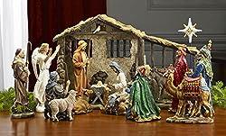 Three Kings Real Life Nativity 19pc Set