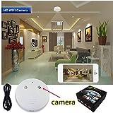 1080P Hidden Camera Smoke Detector Wifi IP Camera Camcorder Video Recorder Security DVR Motion Detection