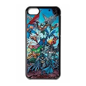 Marvel comic iPhone 5c Cell Phone Case Black Phone Accessories LK_772388
