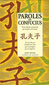 Paroles de Confucius par  Confucius