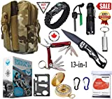 SIGMA GEAR - Emergency Survival Kit & Survival Gear With Tactical Lifesaving Emergency