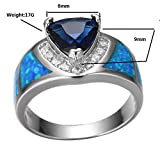 Rongxing-Jewelry-Opal-Blue-Sapphire-Diamond-Womens-White-Gold-Size-6-10-Engagement