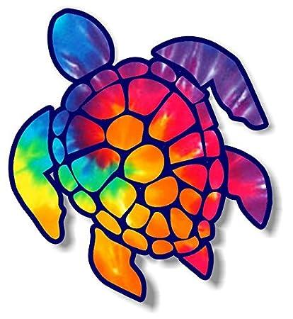 23d06fec5 Amazon.com  Vinyl Junkie Graphics 3 inch Sea Turtle Sticker for ...