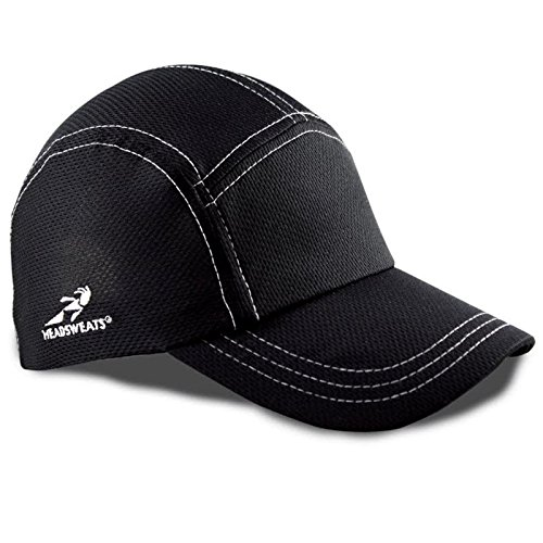 Headsweats Race Performance Sport Hat Cap (Black)