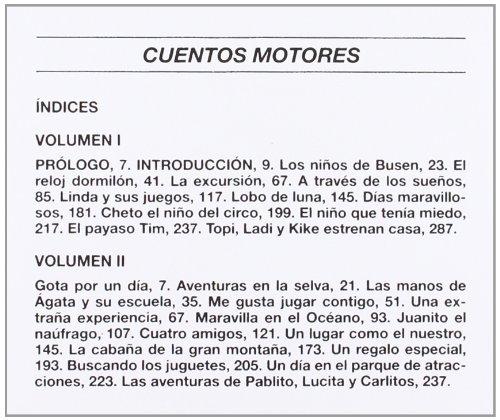 Cuentos Motores - 2 Tomos (Educacion Fisica Y Ensenanza) (Spanish Edition): Jose Luis Conde Caveda: 9788480191029: Amazon.com: Books