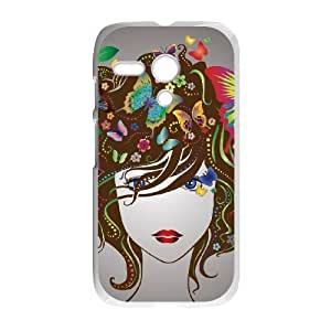 Motorola Moto G Phone Case The butterfly flowers beautiful Protective Cell Phone Cases Cover TTR132015