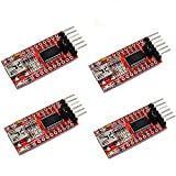 Xiuxin 4pcs 3.3V 5V FT232RL FTDI USB To TTL Serial Converter Adapter Module For Arduino