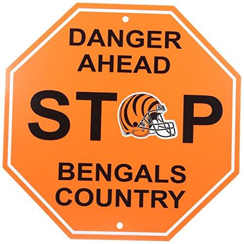 NFL Cincinnati Bengals Stop Sign, 12