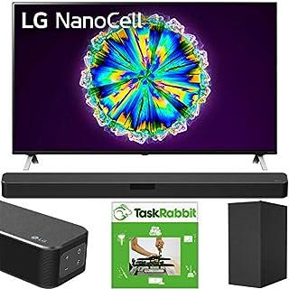 LG 75NANO85UNA 75-inch Nano 8 Series Class 4K Smart UHD NanoCell TV with AI ThinQ (2020) Bundle SN5Y 2.1 Channel Hi-Res Audio Sound Bar with DTS Virtual:X and Taskrabbit Installation Service