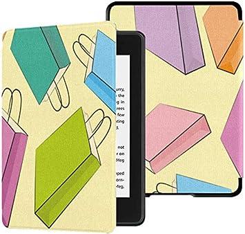 Estuche para Kindle Paperwhite 10th Generation 2018 Tendencia de artículos de Moda Funda de Bolsa de Regalo Colorida Kindle Paperwhite 2018 Estuche con Auto Wake/Sleep: Amazon.es: Electrónica