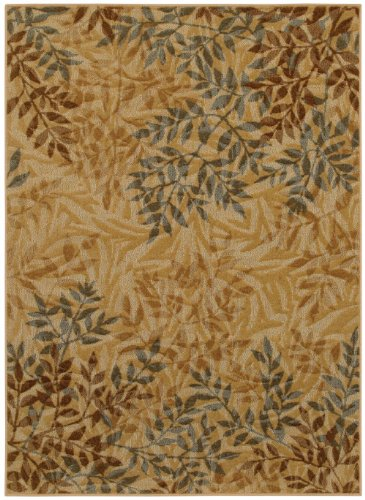 Mohawk Transitional Rectangle Area Rug 8X10 In Tan Beige Color From Connexus Collection
