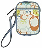 Coach Signature Optic Multi-Purpose Pouch F60873 (Multi-Color)