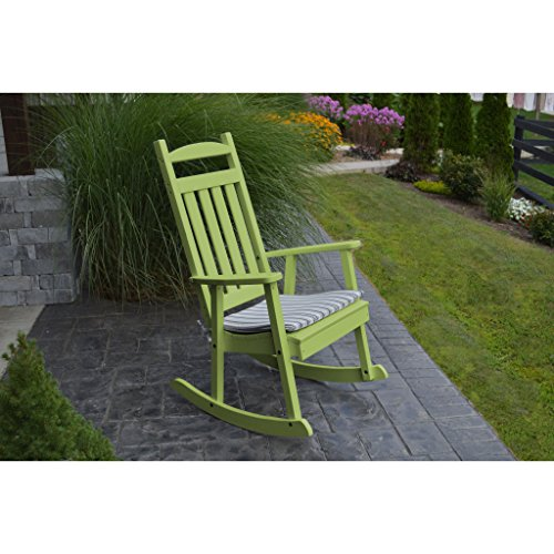 A&L Furniture Company Classic Recycled Plastic Porch Rocking (Recycled Plastic Chairs)