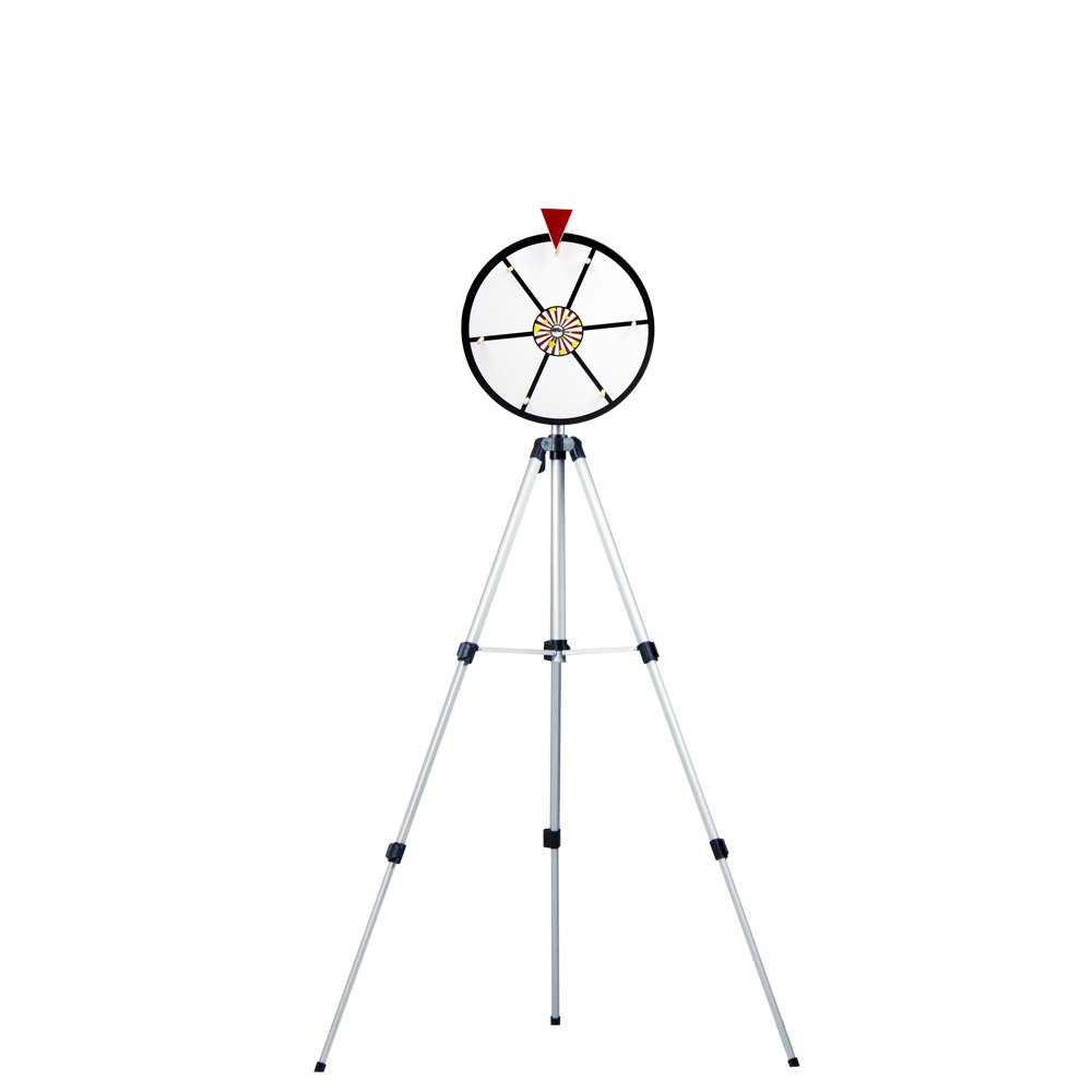 MIDWAY MONSTERS Dry Erase Prize Wheel with Stand, White, 12-Inch