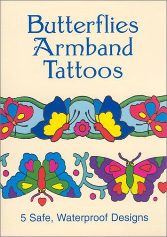 Butterflies Armband Tattoos - Butterflies Armband Tattoos (Little Activity)