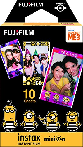 Fujifilm Instax Minion Instant Film Movie Version - 10 Exposures -