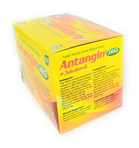 Antangin JRG Herbal Syrup 12-ct, 180 Ml 6 fl oz Pack of 1