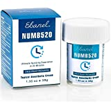 Ebanel 5% Lidocaine Topical Numbing Cream, 1.35oz Max Strength Anesthetic Pain Relief Cream Gel with Deep Penetration Liposomal Tech for Local and Anorectal Discomfort