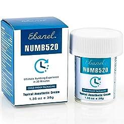 Ebanel 5% Lidocaine Topical Numbing Crea...