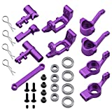 HobbyPark Aluminum Steering Knuckles Hub Carrier Servo Saver Complete 102210 102211 102212 102057 102040 For Redcat Volcano EPX ExceedRC Infinitive SunFire 1/10 Monster Truck Buggy Upgrade Parts