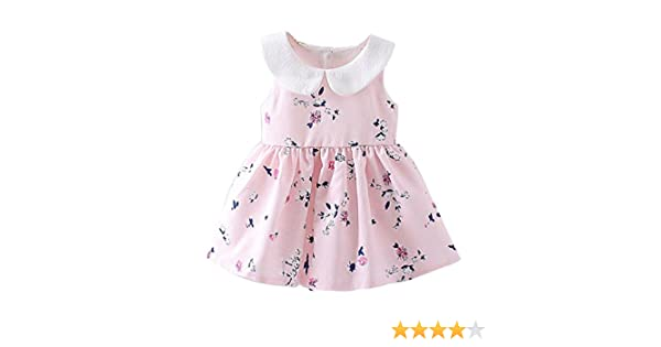 ad2557f28f49 Amazon.com  Vovotrade Cute Toddler Baby Girl Sleeveless Floral ...