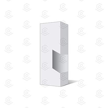 Amazon com: Blank Vape Cartridge Packaging Empty Boxes | White Full