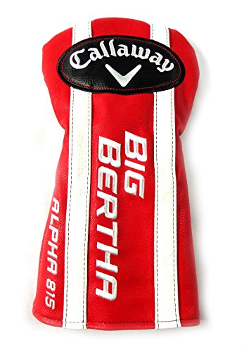 NEW Callaway Big Bertha Alpha 815 Leather Vintage Style 460 Driver Headcover Callaway Socks