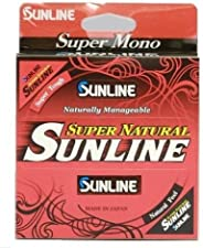 Sunline 63758922 Super 6 lb Fishing Line, Natural Clear, 3300 yd