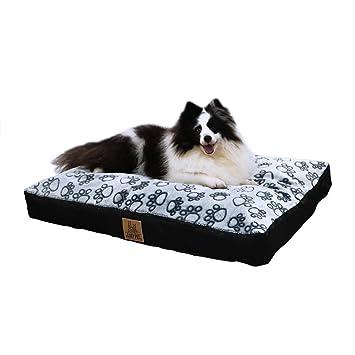 LOSY PET Cama para Perros Sofá Impermeable y Lavable con Cojín Extraíble Cómodo Casa para Mascotas Perros Gatos Cachorros Tamaño XXL 120 x 90 x 10cm: ...