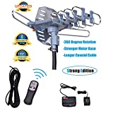 Outdoor TV Antenna Amplified Digital HDTV Antenna 150 Review and Comparison