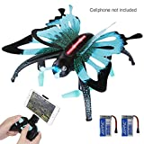 SGILE RC VR Camera Drone Xmas Christmas Gift Toy for Kids Boys, Butterfly-shape Remote Control Quadcopter Drone with 360 Flip/Sound Mode for WIFI APP Smartphone